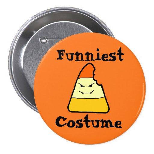 El botón más divertido del premio de Halloween del Pin