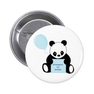 El botón personalizado de los niños del nombre y d pin