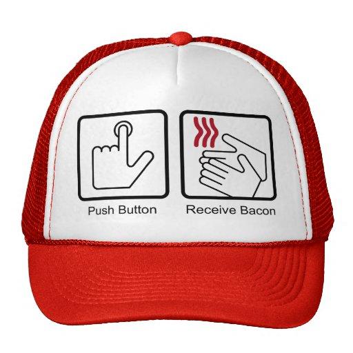 El botón, recibe el tocino - dispensador del tocin gorro