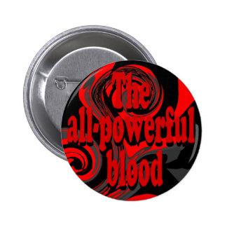 El botón todopoderoso de la sangre pins