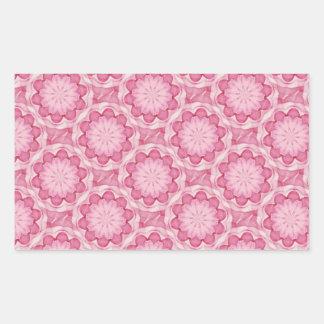 El bottlecap rosado florece al pegatina del