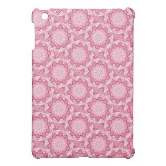 El bottlecap rosado florece la caja del cojín de i