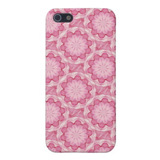 El bottlecap rosado florece la caja del teléfono 4 iPhone 5 coberturas