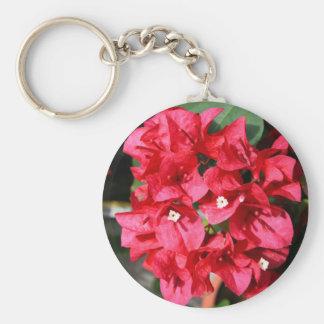 El Bougainvillea florece llavero