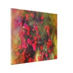 El Bougainvillea rojo florece la bella arte del Impresion De Lienzo