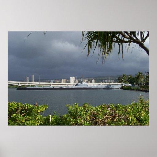 EL BOWFIN HAWAII POSTER