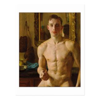 El boxeador de Konstantin Somov Postales