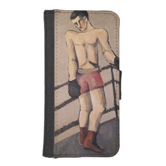 El boxeador grande billeteras para teléfono
