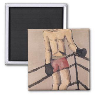 El boxeador grande imán