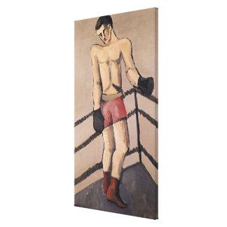El boxeador grande lona estirada galerias