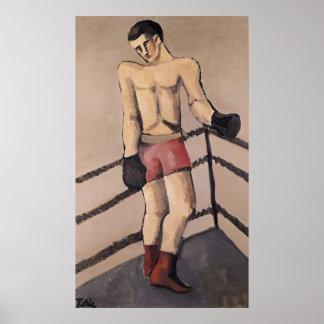 El boxeador grande póster