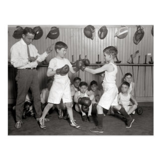 El boxeo Club, 1925 de los muchachos Postal