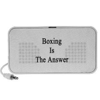 El boxeo es la respuesta PC altavoces