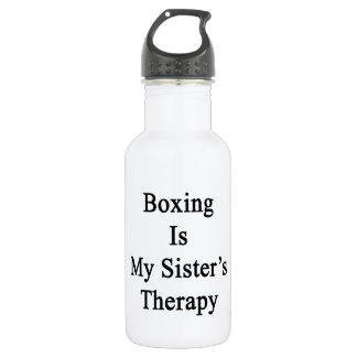 El boxeo es la terapia de mi hermana
