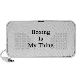 El boxeo es mi cosa altavoz de viaje