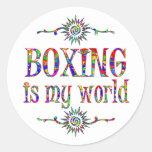 El boxeo es mi mundo etiquetas
