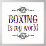El boxeo es mi mundo posters