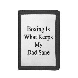 El boxeo es qué mantiene a mi papá sano