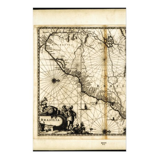 El Brasil. 1671..jpg Personalized Stationery