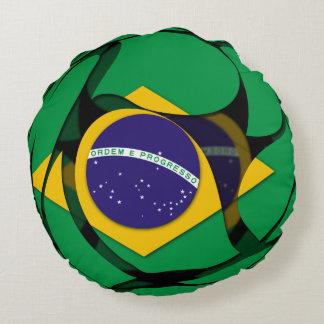 El Brasil 1 Cojín Redondo