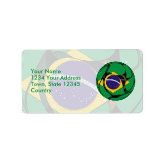 El Brasil 1 Etiquetas De Dirección