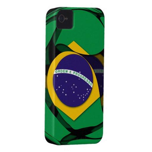 El Brasil 1 Funda Para iPhone 4 De Case-Mate