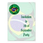 El Brasil 1 Invitación 12,7 X 17,8 Cm