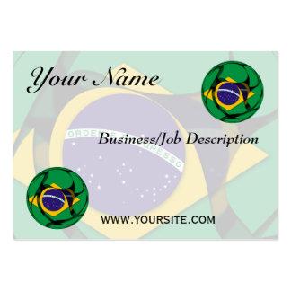 El Brasil 1 Tarjetas De Visita Grandes