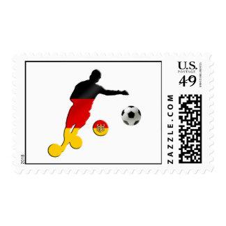 El Brasil 2014 - Fútbol 2014 del mundial del Timbres Postales