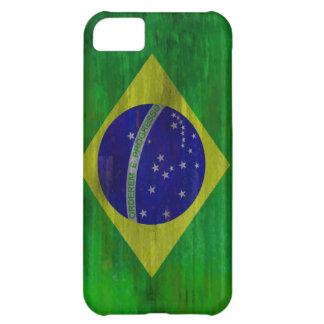 El Brasil apenó la bandera brasileña Funda Para iPhone 5C