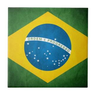 el Brasil Azulejo Cuadrado Pequeño