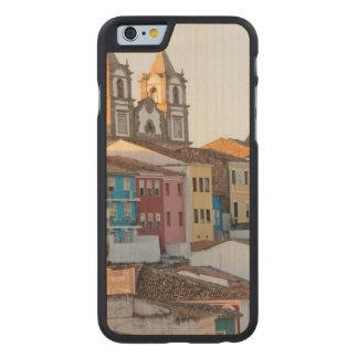 El Brasil, Bahía, Salvador, la ciudad más vieja Funda De iPhone 6 Carved® Slim De Arce