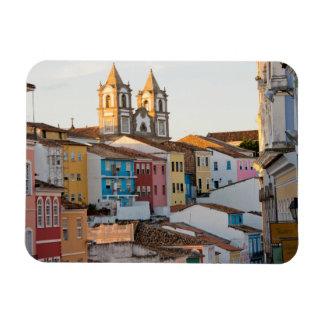 El Brasil, Bahía, Salvador, la ciudad más vieja Imanes Rectangulares