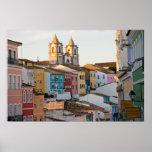 El Brasil, Bahía, Salvador, la ciudad más vieja Póster
