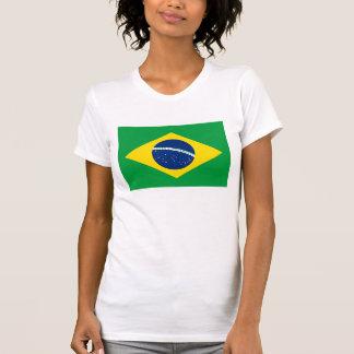 El Brasil - bandera nacional brasileña Camisetas