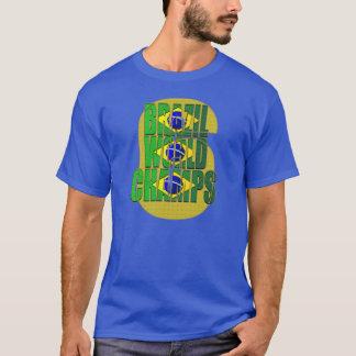 El Brasil camiseta Hexa de 6 de las épocas