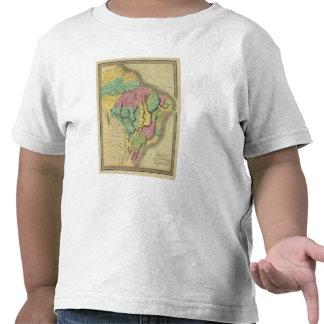 El Brasil con Guayana y Paraguay Camiseta