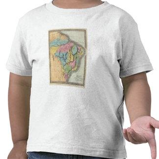 El Brasil con Guayana y Paraguay Camisetas