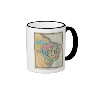 El Brasil con Guayana y Paraguay Tazas