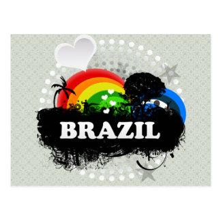El Brasil con sabor a fruta lindo Postal