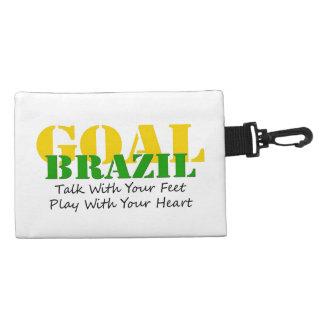 El Brasil - corazón del juego de los pies de la