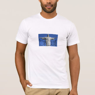 El Brasil - Cristo Redentor Playera