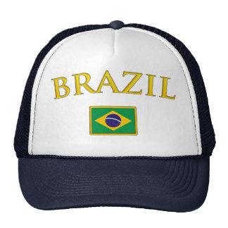 El Brasil de oro Gorra