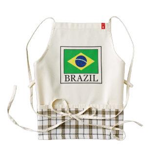 El Brasil Delantal Zazzle HEART
