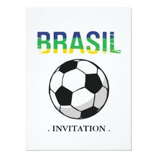 """El Brasil - el Brasil Invitación 5.5"""" X 7.5"""""""