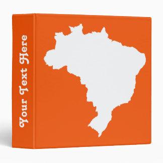 """El Brasil festivo anaranjado en Emporio Moffa Carpeta 1 1/2"""""""