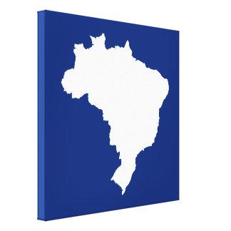 El Brasil festivo azul en Emporiomoffa Impresiones De Lienzo