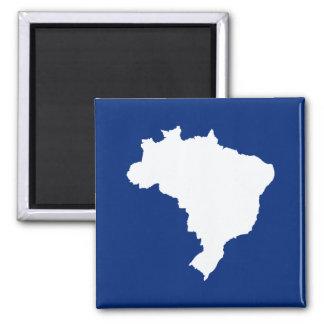 El Brasil festivo azul oceánico en Emporio Moffa Imán Cuadrado