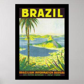 El Brasil (frontera) Posters