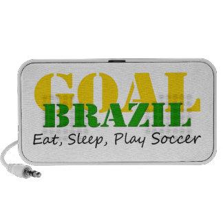 El Brasil - fútbol de Eat Sleep Play Sistema Altavoz
